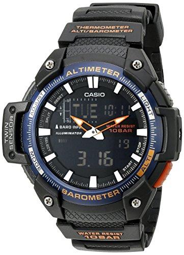 Casio Reloj analógico Digital para Hombre SGW-450H-2BCF con Sensor Gemelo
