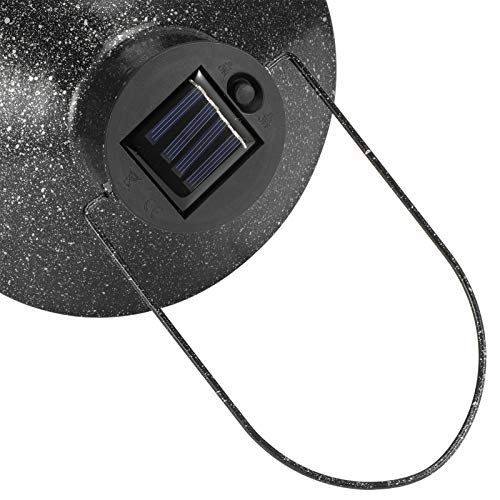 SALALIS Linterna Solar IP44 Lámpara Colgante de Exterior, para Jardines y Patios, para porches y Paredes, para Caminos y entradas