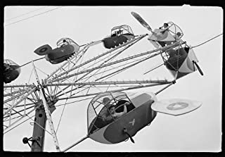 HistoricalFindings Photo: Carnival Ride,Brownsville,Texas,TX,February 1942,Arthur Rothstein,FSA,3