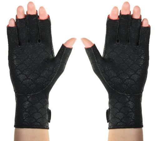 "Thermoskin Arthritic Gloves Medium 8"" - 8.75"" Black (pair)"