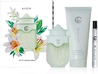 Avon haiku gift set. Parfum. Lotion. Parfum Travel size