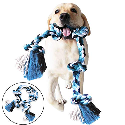 DIY House Large Dog Chew Rope Toys for Aggressive Chewers