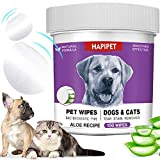 Best Eye Stain Remover For Dogs - HAPIPET 150 Pads Pet Eye Wipes,Eye Tear Stain Review
