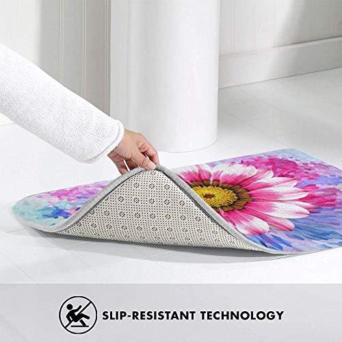 LDHHZ Felpudo de bienvenida personalizado con texto en inglés «Any Message – Your Text Design Logo Cites» para decoración del hogar, alfombra de interior de 40 x 60 cm