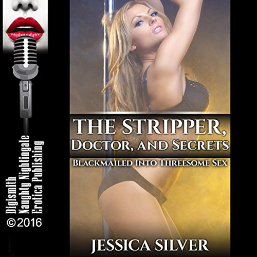 The Stripper, Doctor, and Secrets audiobook cover art