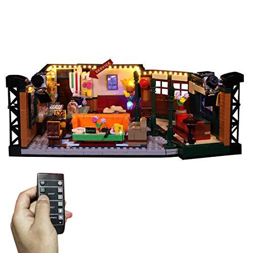 SICI LED Beleuchtungsset für LEGO Friends Central Perk, Beleuchtung Licht Kompatibel mit Lego LEGO Ideas...