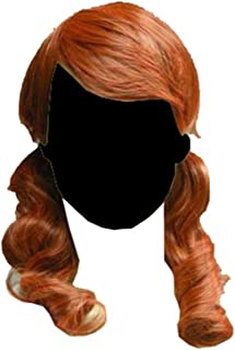Final Fantasy Vanille Cosplay Orange Wig C24