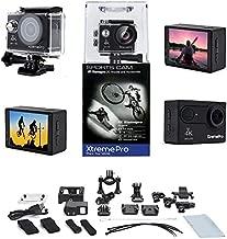 XtremePro 4K Ultra HD Sports Camera Bundle, Black
