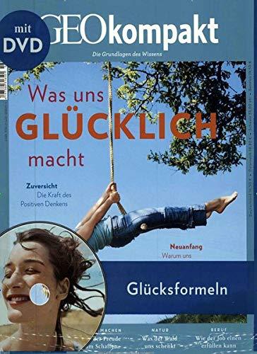 GEOkompakt mit DVD 58/2019 - Was uns glücklich macht: DVD: Glücksformeln - Wie sich Lebensfreude stärken lässt