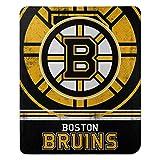 The Northwest Company NHL Boston Bruins 'Fade Away' Fleece Throw Blanket, 50' x 60' , Black