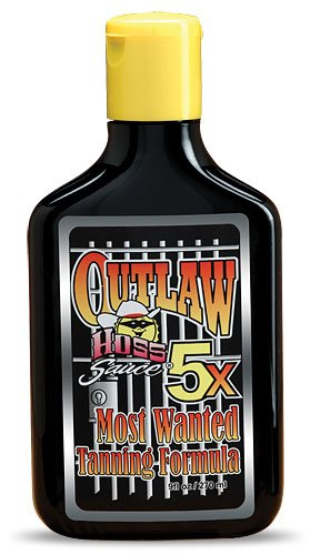 Outlaw 5X Tingle Tanning Lotion 9oz