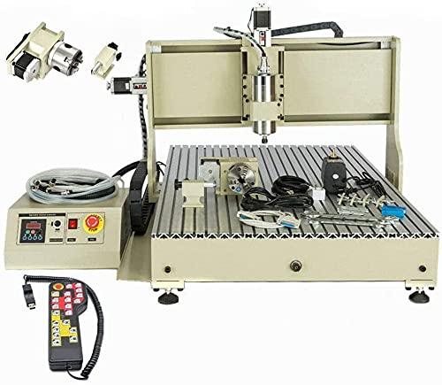 DNYSYSJ CNC 6090 Router Milling Engraving1500W Engraver 3D Cutting Machine...