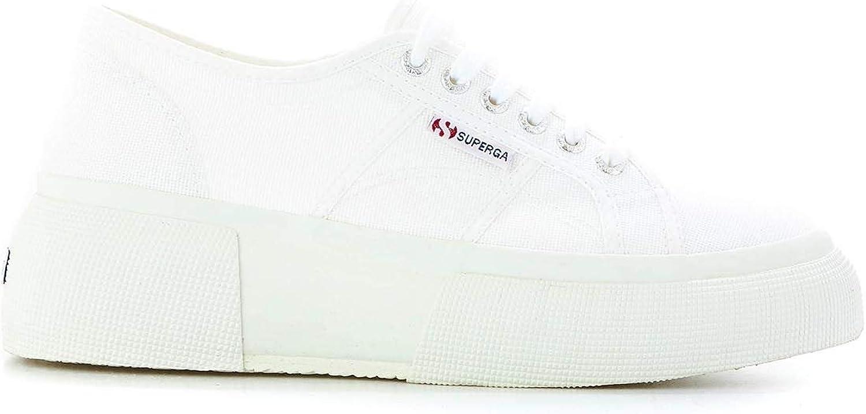 Superga Woherrar S00DQ70900 vit läder läder läder skor  bästa priserna