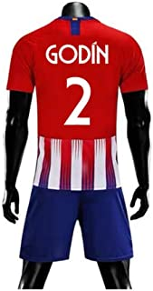 ZAIYI-Jersey Soccer T-Shirt-Diego Godín-2 for Football Sports Fan Team Jersey T-Shirt Men's and Women's -Fans-T-Shirts Short