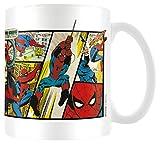Marvel Comics MG23438 Marvel Retro (Spider-Man Panels) Mug, Céramique, Multicolore,...