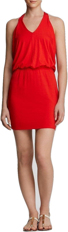 Ella Moss Women's Bella StrapBack Dress, Cayenne (Red), Size XSmall