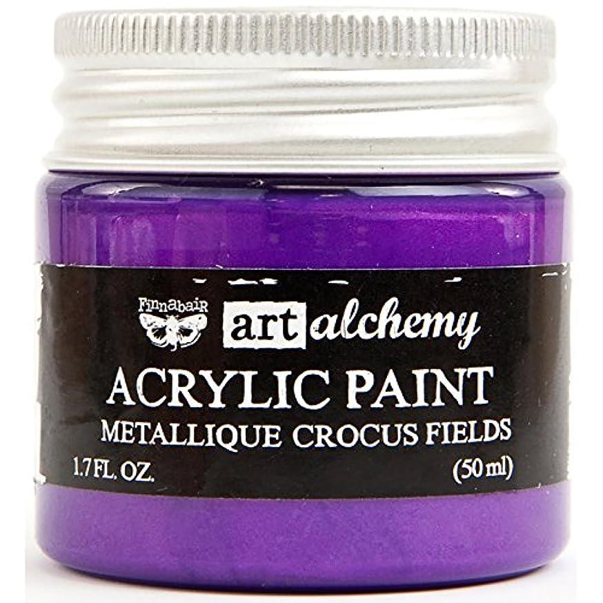Prima Marketing Art Alchemy - Metallique - Crocus Fields