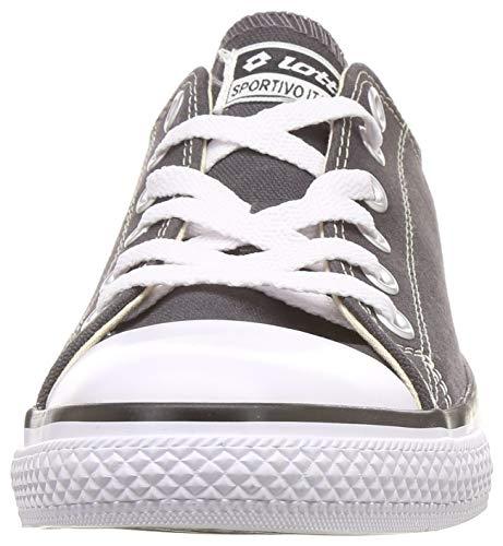 Product Image 2: Lotto Men's Atlanta Neo Dark Grey/White Sneakers