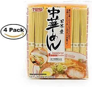 Hime Japanese Ramen Noodles, 25.4 Ounce (4 Pack)