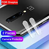 Fotocamera Lens Pellicola per OnePlus 8 Camera Protettiva Pellicola Vetro Temperato 2-Pack 9H...