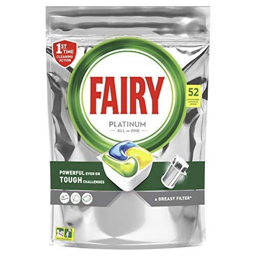 Fairy Platinum Dishwasher Tablets, 52 Tablets