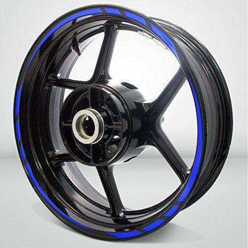 Rapid Outer Rim Aufkleber Stripe for Kawasaki ZZR 1200 Gloss Blue
