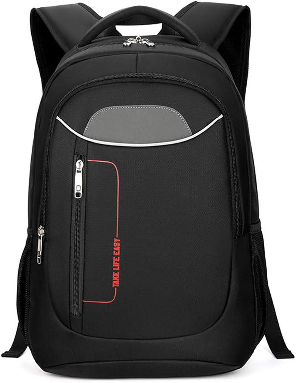 HUDUI Outdoor Rucksack Business Herren Oxford 15,6 Groe Kapazitt Laptoptasche New Travel Backpack Geeignet für College-Rucksack