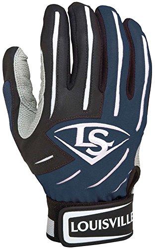 guanti baseball battitore Louisville Slugger - Gant de Batting Louisville Slugger Series 5 Navy Junior taille - L
