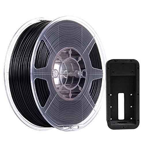 Filamento ABS-MAX Filamento de 1.75 mm Impresora 3D Precisión de filamento +/- 0.05mm 1kg (2.2 lbs) Carrete, material ignífugo, llama Retardante...