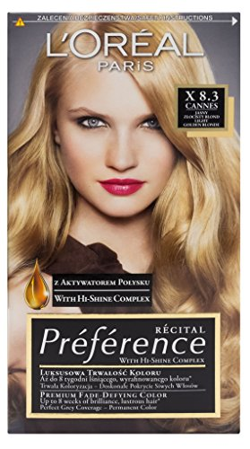 L'Oreal Paris Recital Preference X 8.3 Cannes Haar Farbe