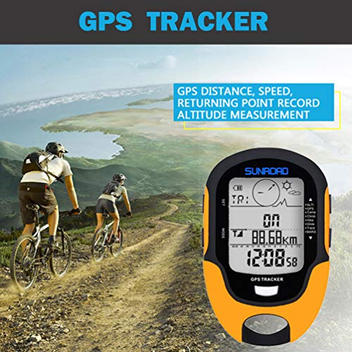 Multifunctional Digital Barometric Altimeter Compass Weather Forecast Thermometer Hygrometer Barometer, by SUNROAD