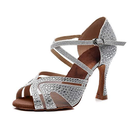 Syrads Zapatos Baile Latino Mujer Salsa Tango Bachata