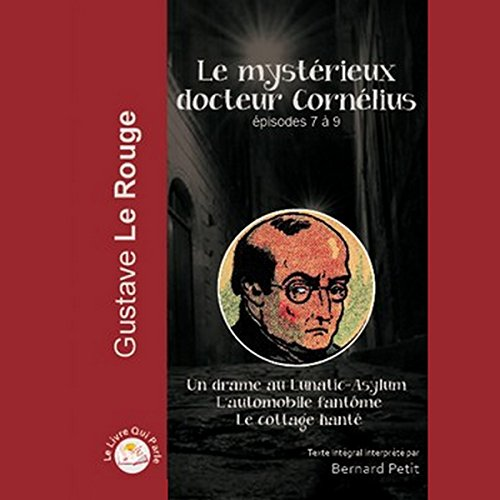 Le mystérieux docteur Cornélius. Épisodes 7 à 9                   By:                                                                                                                                 Gustave Lerouge                               Narrated by:                                                                                                                                 Bernard Petit                      Length: 7 hrs and 3 mins     Not rated yet     Overall 0.0