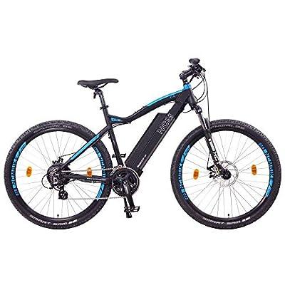 """NCM Moscow E-Bike, E-MTB, E-Mountainbike 48V 13Ah 624Wh - 27,5"""" Schwarz"""