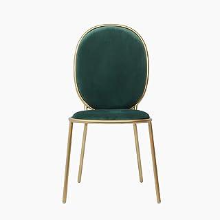 Accessoires de décoration Chaises de salle à manger Chaise de salle à manger nordique Chaise de dos de maquillage simple e...