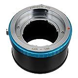 Fotodiox Pro adaptador de montura de lente con anillo de Control de apertura - Voigtländer Bessamatic/uitramático objetivos a Micro Four Thirds (m-4/3, MFT) DSLR cámara sin espejo como Olympus bolígrafo E-P3, E-M, OM-D, E-M5 o Panasonic Lumix DMC-G3, GH3, GM1, GX7GH4, G6, GF5