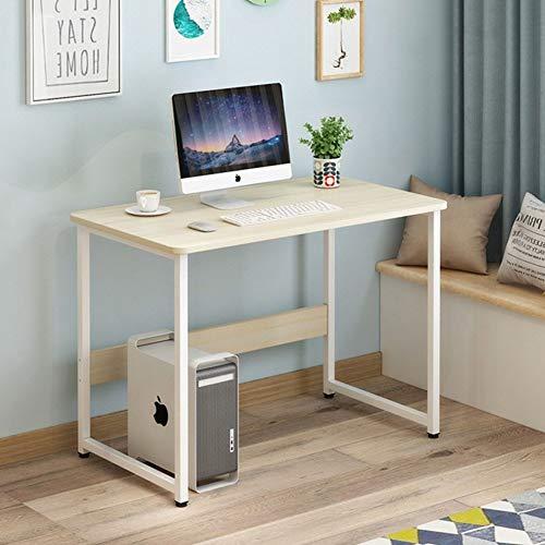 YQ WHJB Einfache Robust Office Computertisch,schreiben Computer Schreibtisch,Home Pc-Laptop Schreibtisch Desktop Workstation Einfach Zu Montieren-q 100x60x73cm(39x24x29in)