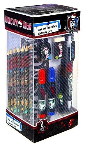 Undercover MHCP2250 - Mal und Schreibturm Monster High, 25-teilig