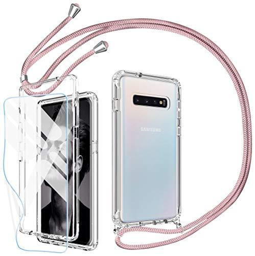 Mkej 3 en 1 Funda Colgante movil con Cuerda para Samsung