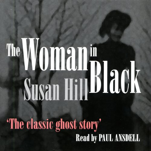 The Woman in Black audiobook cover art
