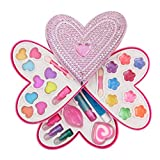 Product Image of the Liberty Imports Petite Girls Heart Shaped Cosmetics Play Set - Fashion Makeup...