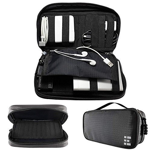 Zero Grid Electronics Travel Organizer - Cord, Cable,...