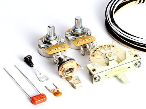 ToneShaper Kit de cableado de guitarra, para Fender Telecaster SS1 (cableado moderno)