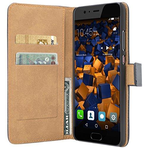 Tasche Bookstyle Case kompatibel mit Huawei Y5 II Hülle Handytasche Case Wallet, schwarz - 2