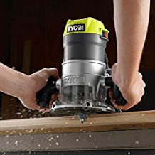 Ryobi 8.5 Amp 1-1/2 HP Fixed Base Router (Green) (Renewed)