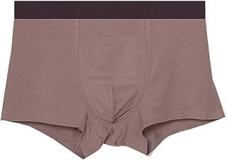 Howely Men's Modal Cotton Cotton Comfort Pure Color Breathable Boxer Brief