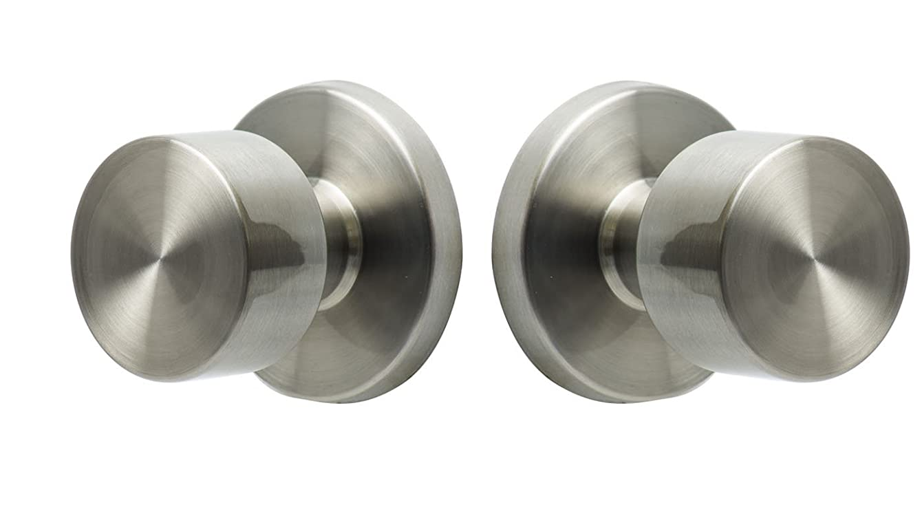 Sure-Loc Hardware BG101 32D Bergen Passage Knob, Satin Stainless