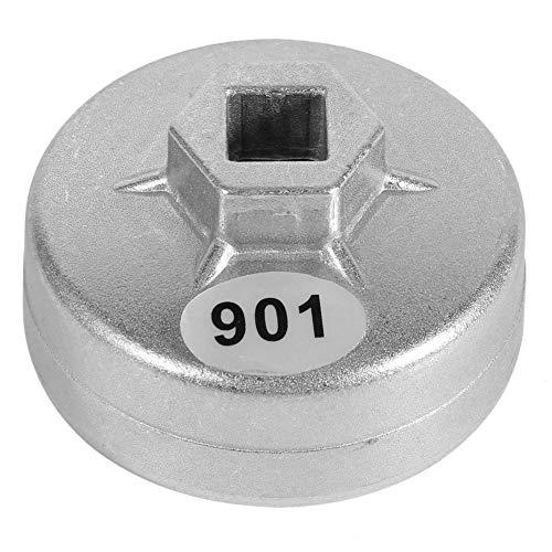 Chiave per filtro dell olio, 65 mm 14 flauto filtro dell olio chiave 901 presa filtro dell olio auto strumento di rimozione del filtro dell olio