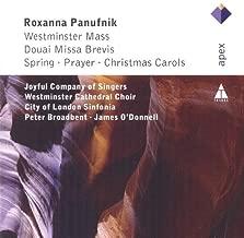 Panufnik : Westminster Mass, Douai Missa Brevis & Christmas Carols by Westminster Cathedral Choir & City of London Sinfonia Peter Broadbent
