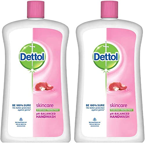 Dettol Skincare Liquid Soap Jar - 900 ml (Pack of 2) product image